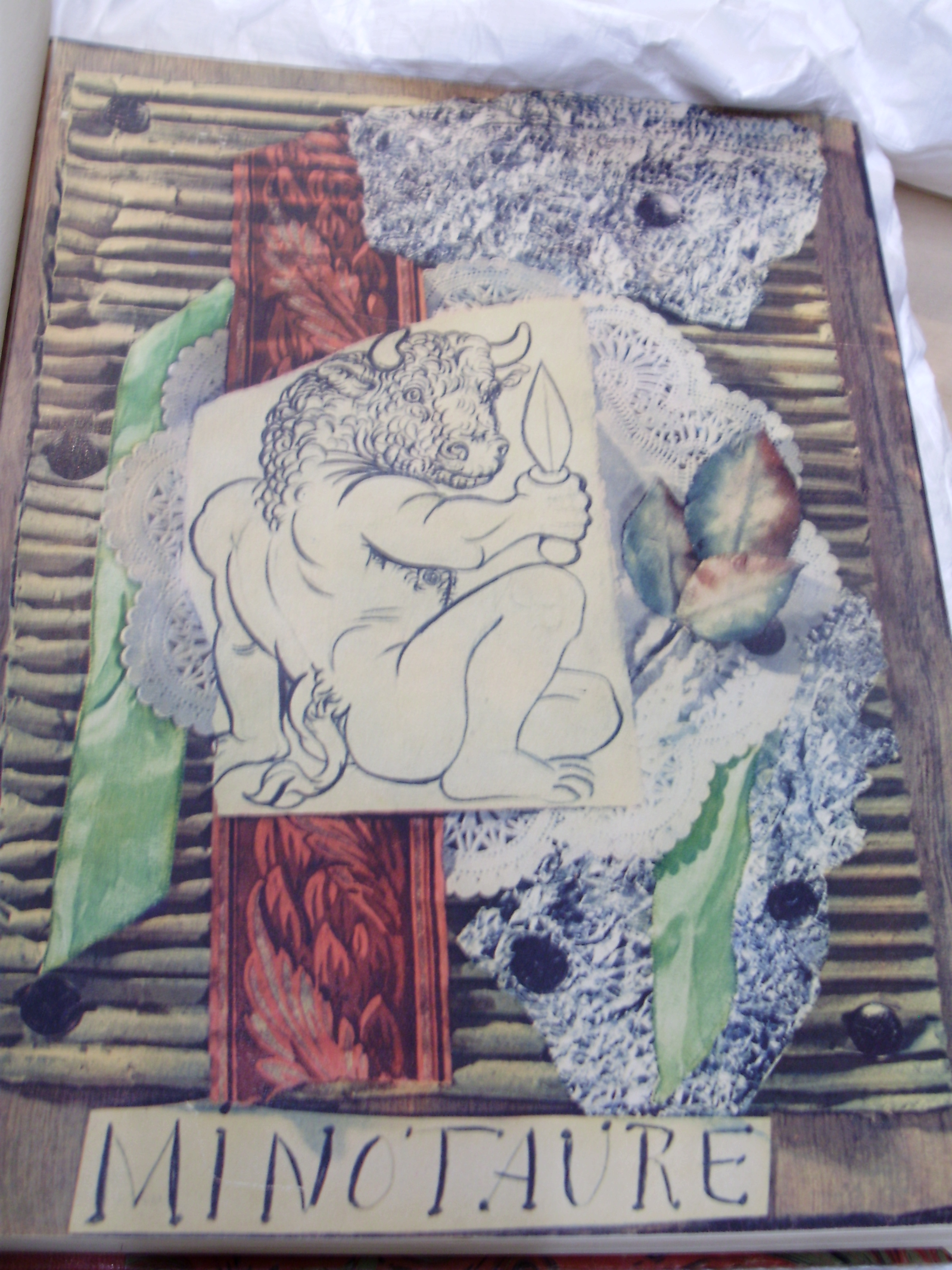 Image of the cover of the journal 'Minotaure' No. 1 (1933) found at the Courtauld Institute of Art.