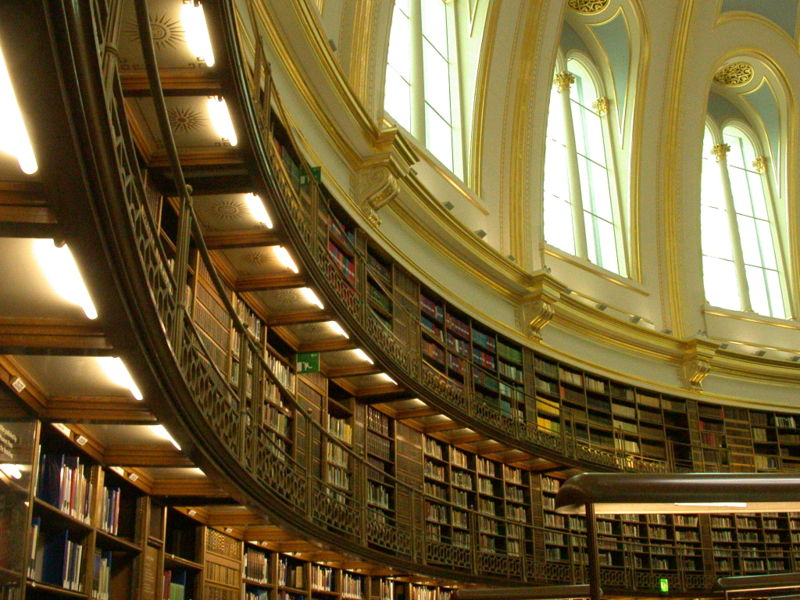 An image of the British Museum Reading Room