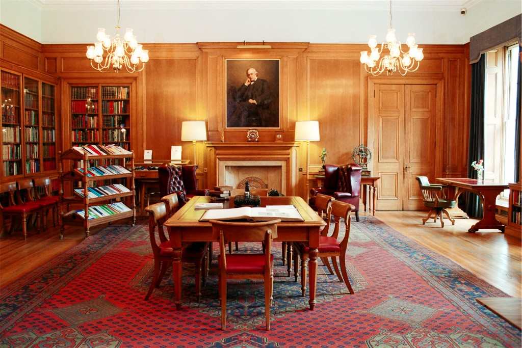 The Lister Fellows Room in the Royal College of Surgeons of Edinburgh